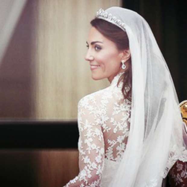 Duchess of Cambridge veil