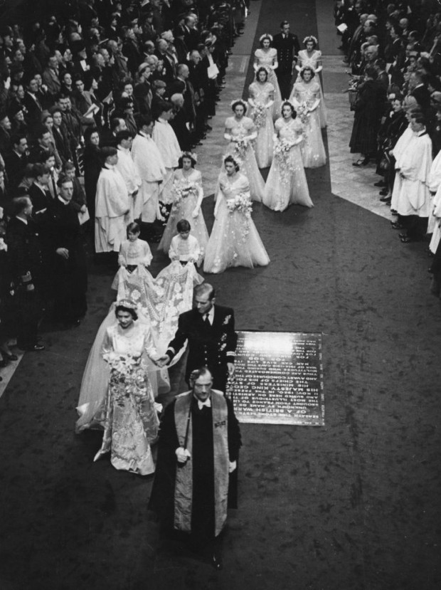 Wedding of QEII and P. Philip