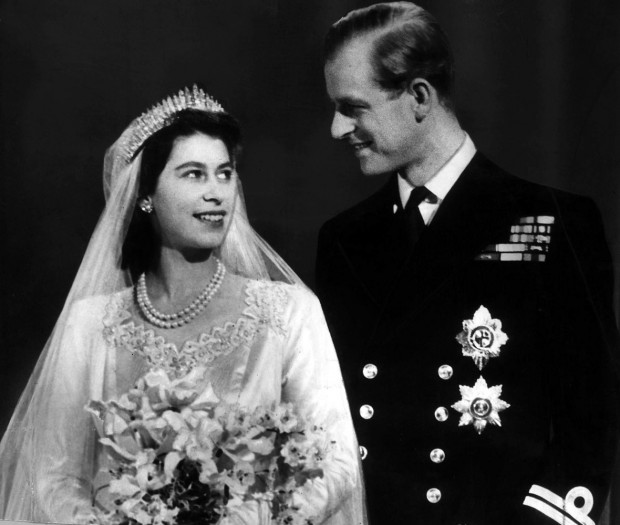 Prince Philip and Princess Elizabeth in Love