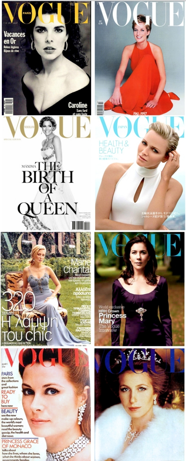 Royal Vogue Covers