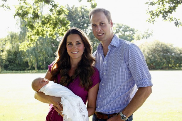Kate William George first photos