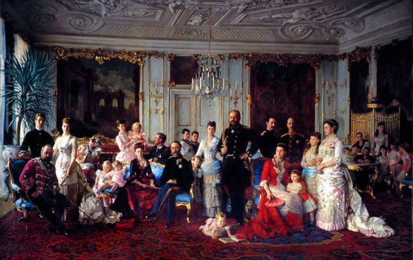 Danish Royal Family Portrait 1880