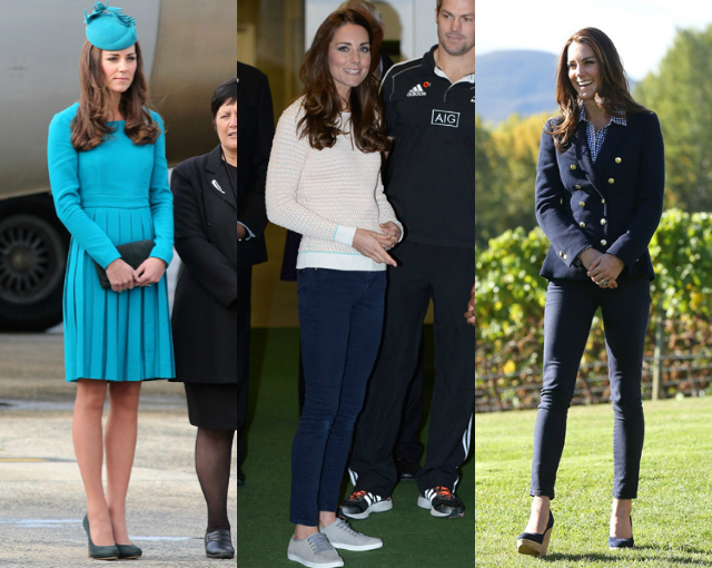 Duchess of Cambridge New Zealand Outfits