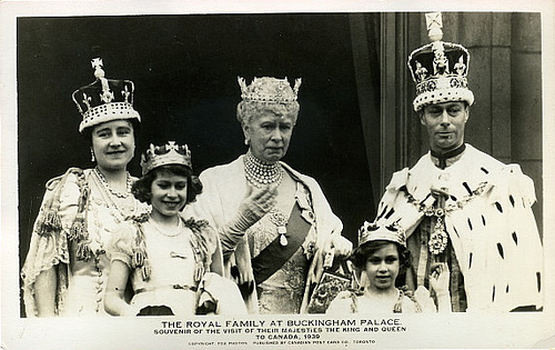 Coronation-of-King-George-VI