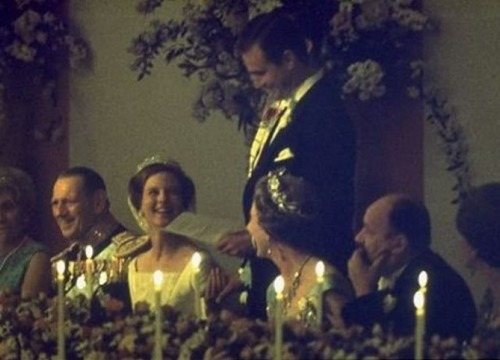 Princess Margrethe Wedding 1967