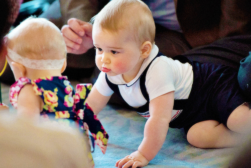 Prince George's Royal Playdate