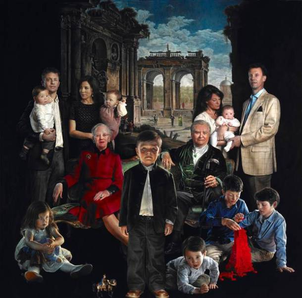 Danish Royal Family Portrait