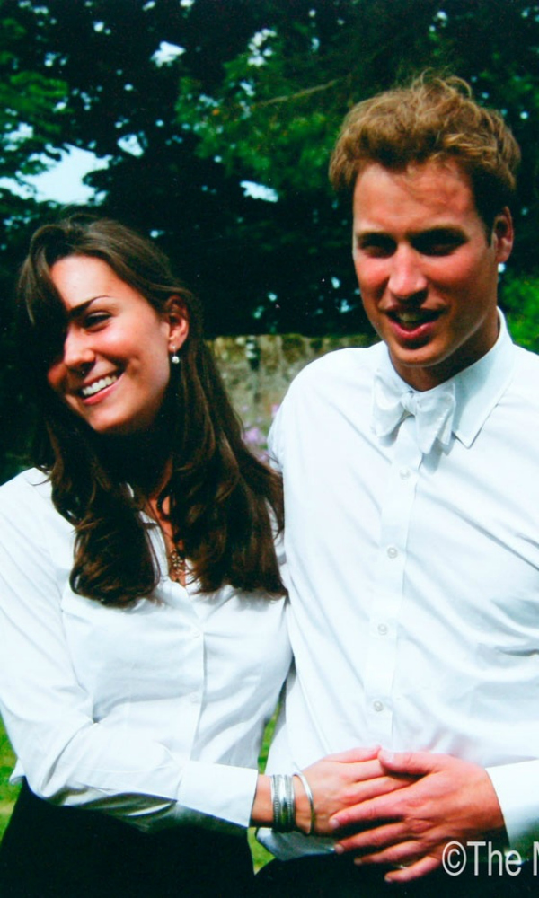 William and Kate St. Andrews' graduation 2005