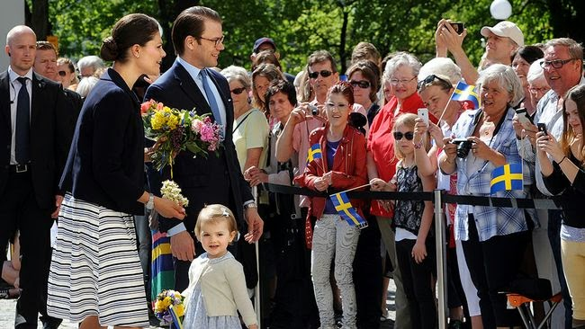 Princess Estelle visit