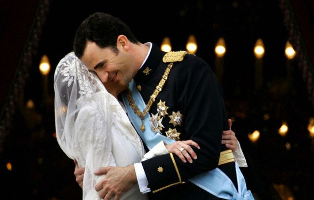 Spanish Crown Prince Felipe and  Letizia Ortiz Wedding ceremony