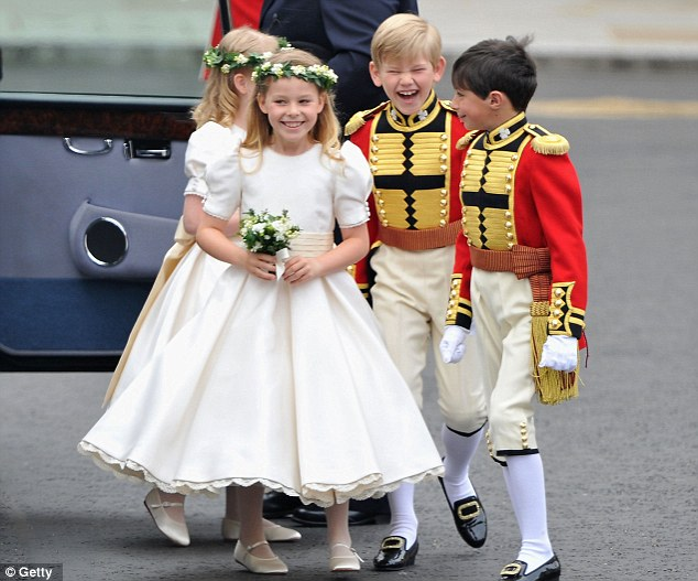 Royal Flower Girls and Page Boys