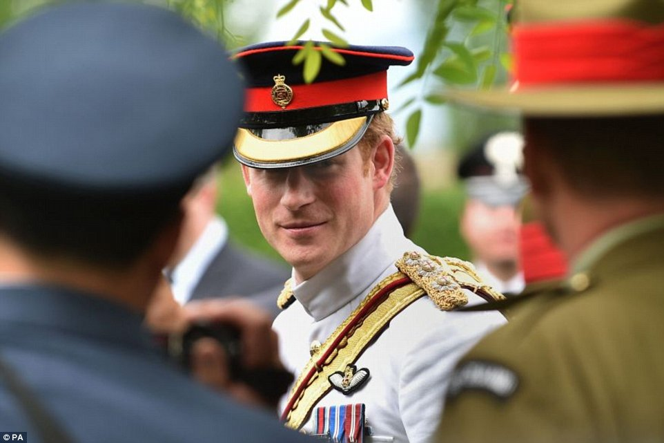 Prince Harry's Estonia + Italy tour 2014