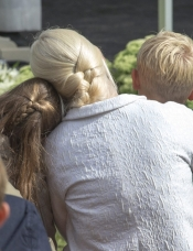 Crown Princess Mette-Marit with children