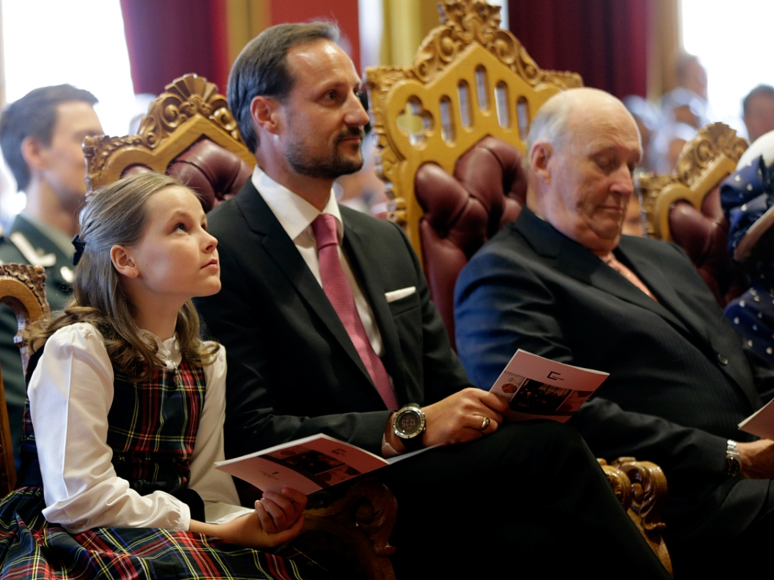 Princess Ingrid Alexandra attends Parliament 2014