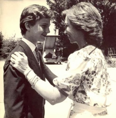 H.M. Queen Sofia of Spain and H.R.H. Prince Felipe de Asturias
