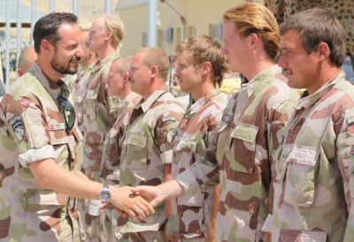 Royals in the Military