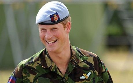"""""""Prince Harry, who has the rank of Captain, continues to serve in the Armed Forces... Prince Harry remains a Commissioned Officer in the Household Cavalry."""" - princehenryofwales.org"""
