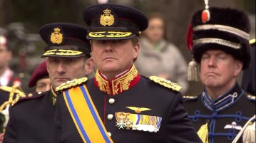 """The King performed his military service in the Royal Netherlands Navy from August 1985 to January 1987. ... After graduating in 1993, King Willem-Alexander gained his Military Pilot's Licence with 334 Transport Squadron of the Royal Netherlands Air Force. In 1994 the King spent several months at the Netherlands Defence College, studying aspects of the work of the Royal Netherlands Army and Air Force."" - nlembassy.org"