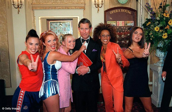 Prince Charles and the Spice Girls