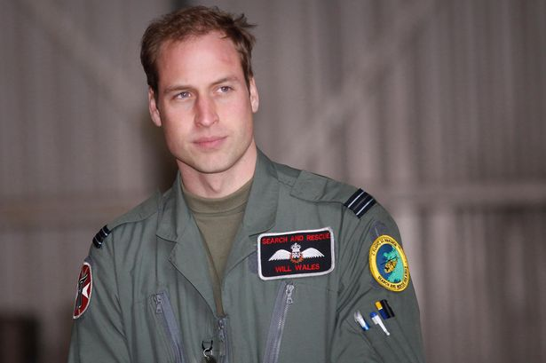 """""""In his military life, The Duke is known as Flight Lieutenant William Wales."""" - royal.gov.uk"""