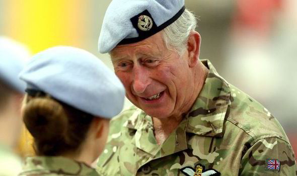 """""""The Prince of Wales currently holds the ranks of Admiral in the Royal Navy, Air Chief Marshal in the Royal Air Force and General in the Army."""" - royal.gov.uk"""