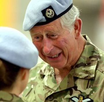 """The Prince of Wales currently holds the ranks of Admiral in the Royal Navy, Air Chief Marshal in the Royal Air Force and General in the Army."" - royal.gov.uk"
