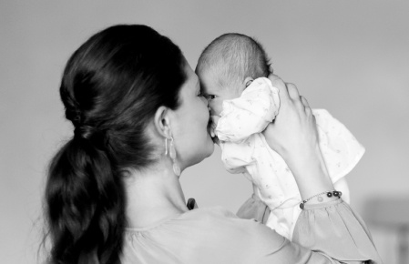 Crown Princess Victoria with Baby CP Estelle