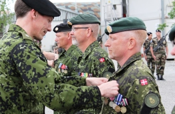 """Prince Joachim began his military education in 1987 as a recruit in the Queen's Own Regiment. In 1988 the prince became a sergeant, and a year later, a lieutenant of the reserve. Prince Joachim served as a platoon commander of a tank squadron from 1989 to 1990. In 1990 the Prince gained the rank of first lieutenant of the reserve, and in 1992 he was appointed Captain of the reserve. After appointment to Major of the reserve in 2005, the Prince remains active in the defence reserve."" - http://theroyalfamilies.wikia.com"