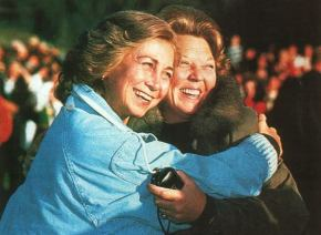 #tbt: Queen Beatrix and Queen Sofia, date unknown