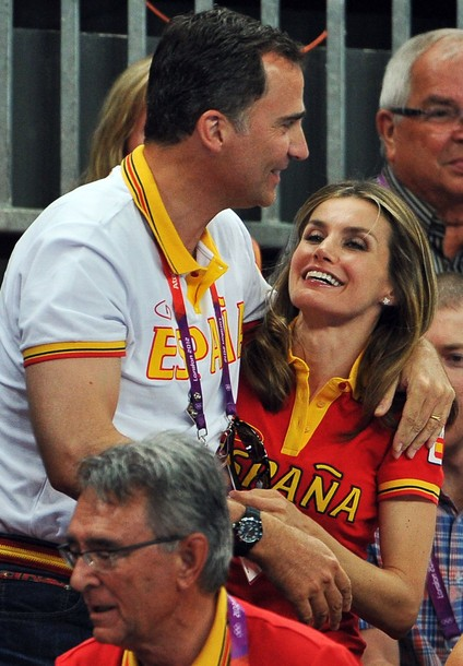 Prince Felipe and Crown Princess Letizia of Spain