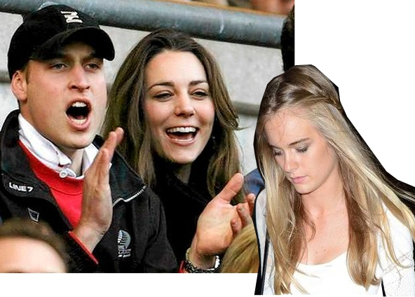 William and Kate Harry and Cressida