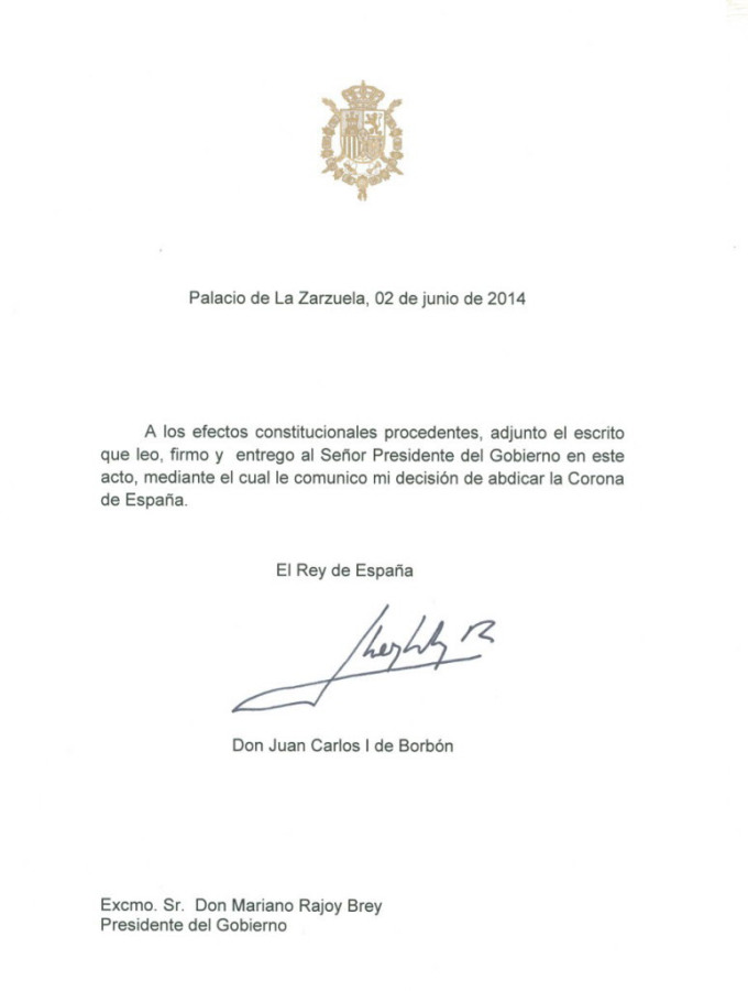 SPAIN-POLITICS-ROYALS-ABDICATION