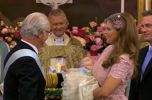 The christening of H.R.H. Princess Leonore Lilian Maria, daughter to H.R.H Princess Madeleine and Mr. Christopher O'Neill