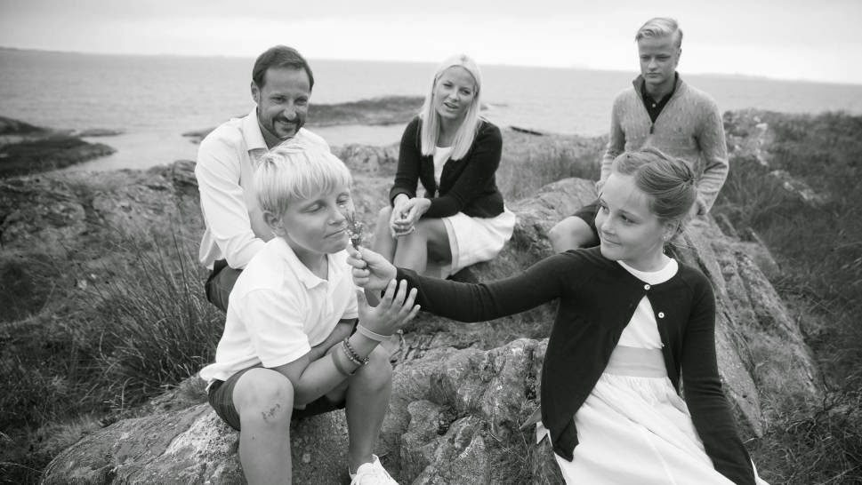Crown Princely Family of Norway Photoshoot