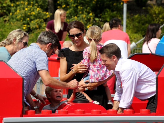 The Danish Crown Princely Family Does Legoland