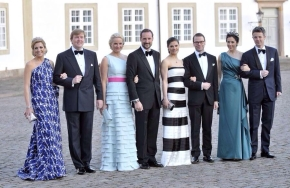 #tbt: European Royals together for Queen Margrethe's 70th Birthday, 2010