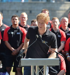 Prince Harry Speaks at the Launch of Team for Invictus Games(Photos)