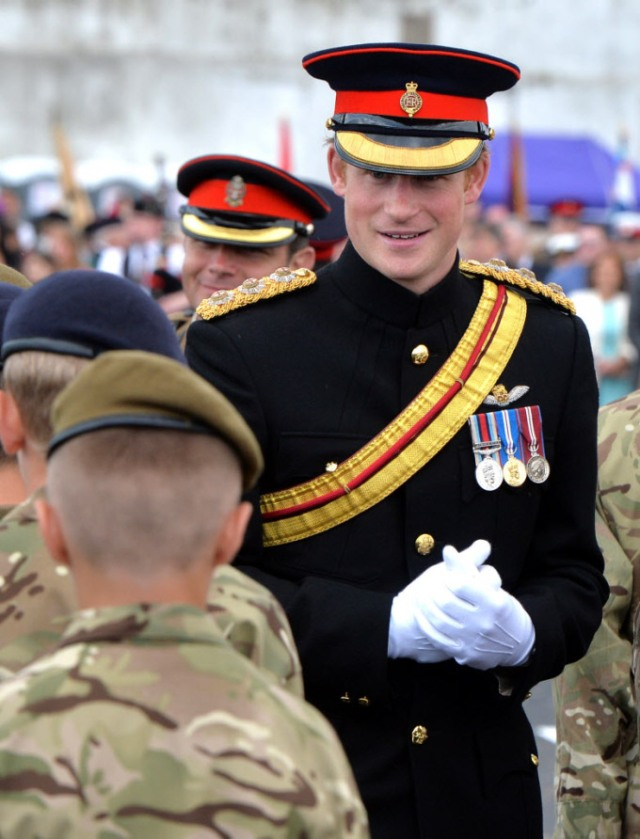 Prince Harry Attends The Unveiling Of The Folkestone Memorial Arch