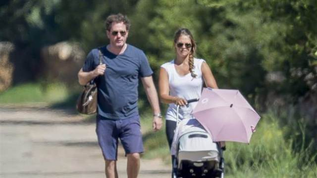 Princess Madeleine Spotted Vacationing with Husband and daughter, Princess Leonore in Bari