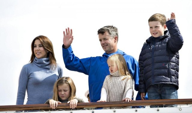 Danish Crown Princely Family's Official Visit to Greenland, Part I.