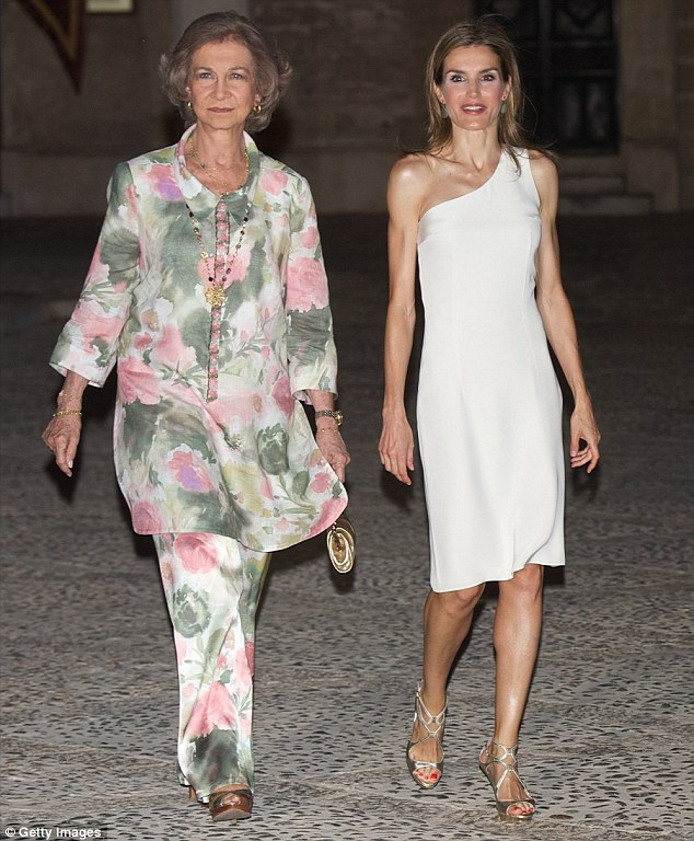 Spanish Royals Host Annual Reception at Almudaina Palace in Palma de Mallorca