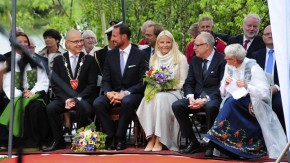Crown Prince Haakon and Crown Princess Mette Marit Celebrate Bicentenary of the Convention ofMoss