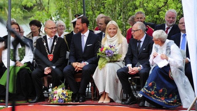 Crown Prince Haakon and Crown Princess Mette-Marit Celebrate Bicentenary of the Convention of Moss
