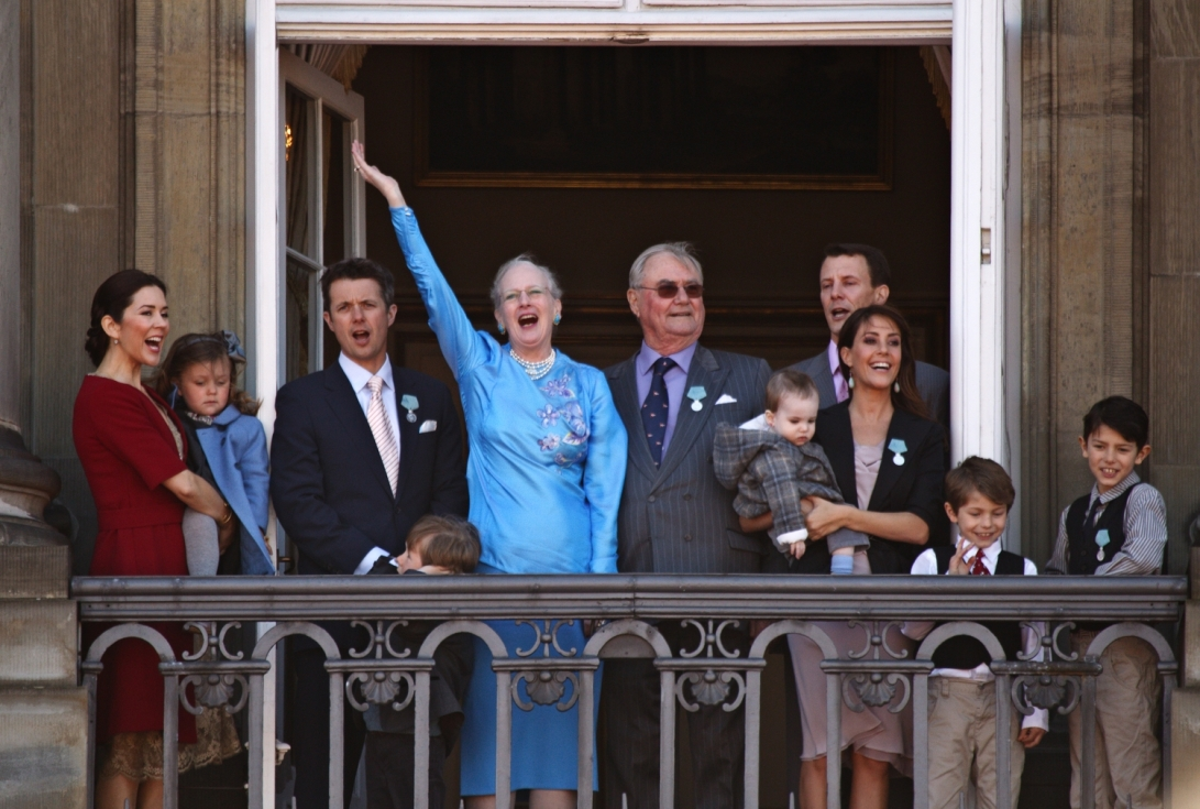 Danish Royals Get a Raise