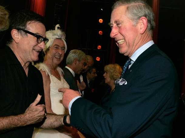 Prince Charles Remembers Robin Williams