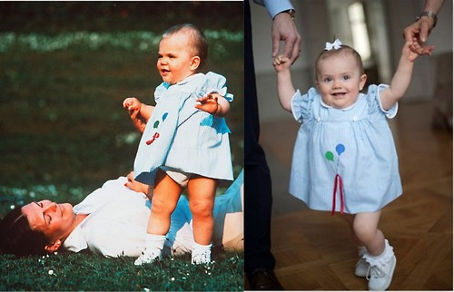 Crown Princess Victoria and Princess Estelle: Fashion Twins
