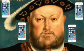 What King Henry VIII's Texts Would've Looked Like