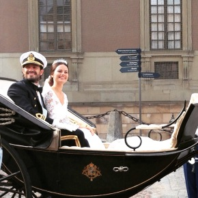 That time I went to the Royal Wedding — Sweden Edition.