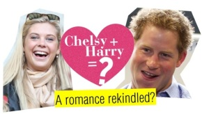 Relationship Status: It's Complicated. Are Prince Harry & Chelsy Davy back together?