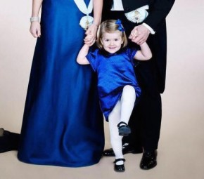 Swedish Royal Court Releases New Photo of Crown Princess Family of Sweden